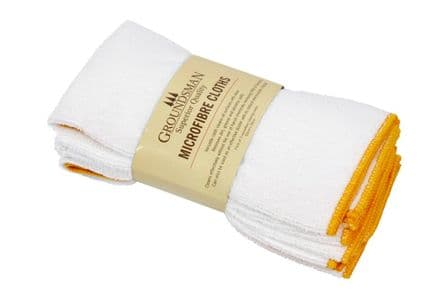Groundsman Micro Fibre Cleaning Cloth - 50 x 50cm Pack 3